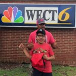 diego and dad at WECT