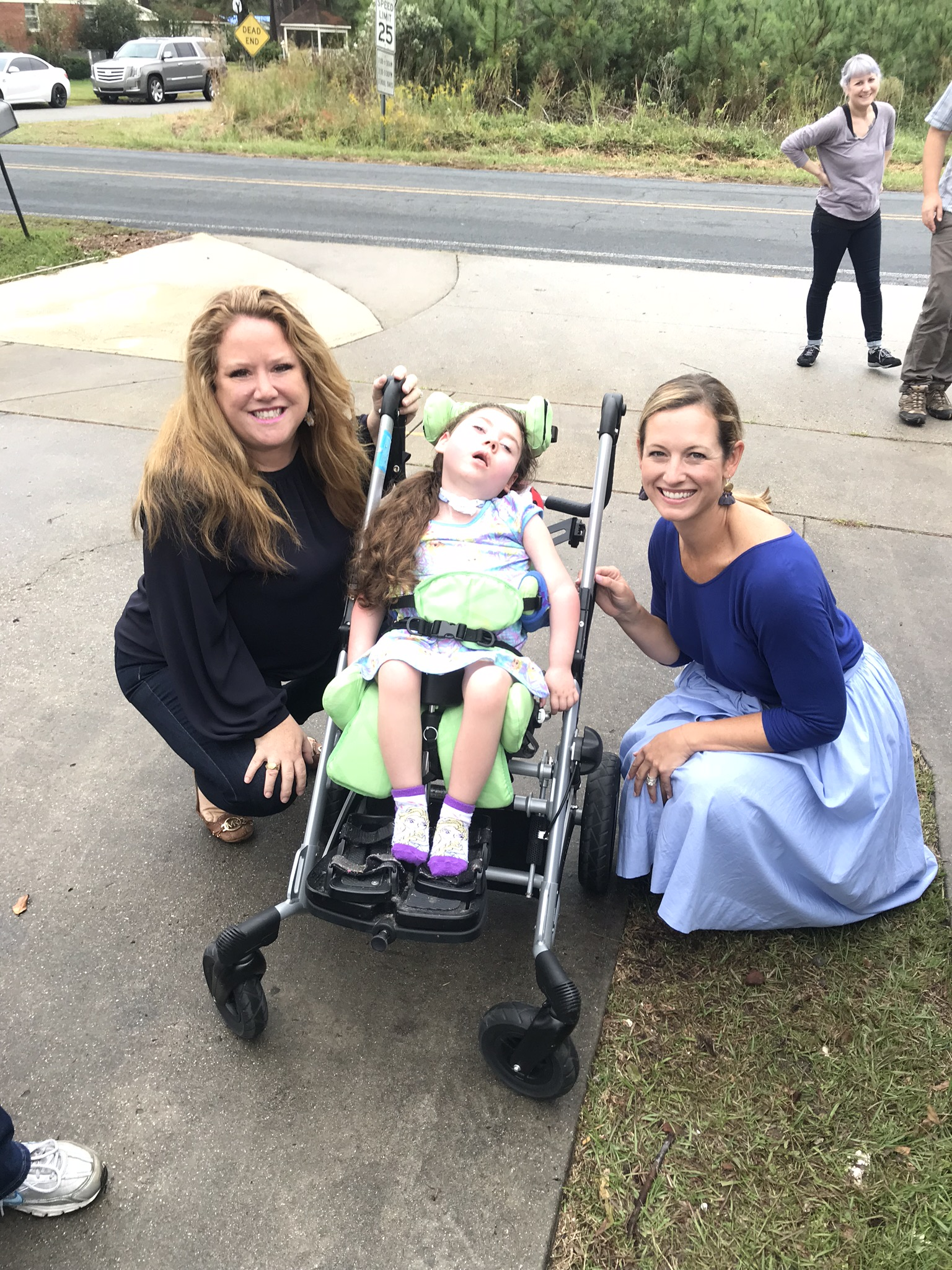 Meg, Liz, and Angel Julia