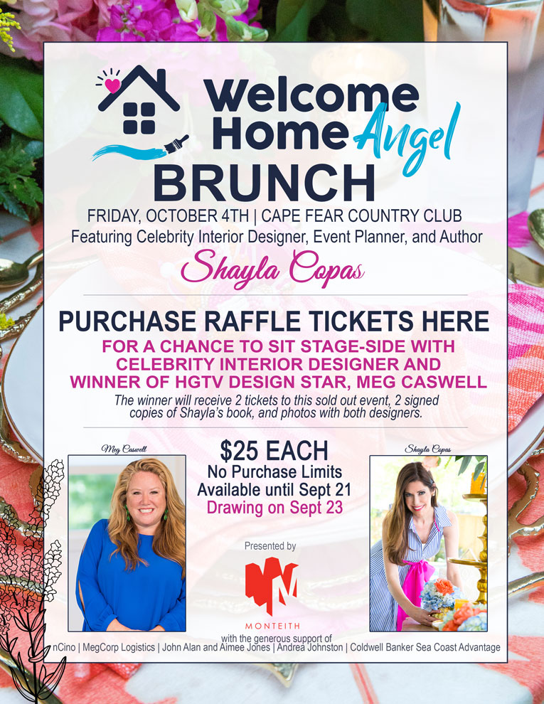 WHA Raffle Brunch Flyer